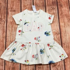 Baby Gap Girls Floral Dress & Bloomers